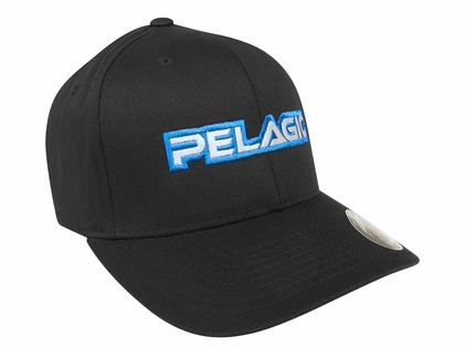 "Pelagic 502 Flexfit ""Pelagic"" Cap Black"