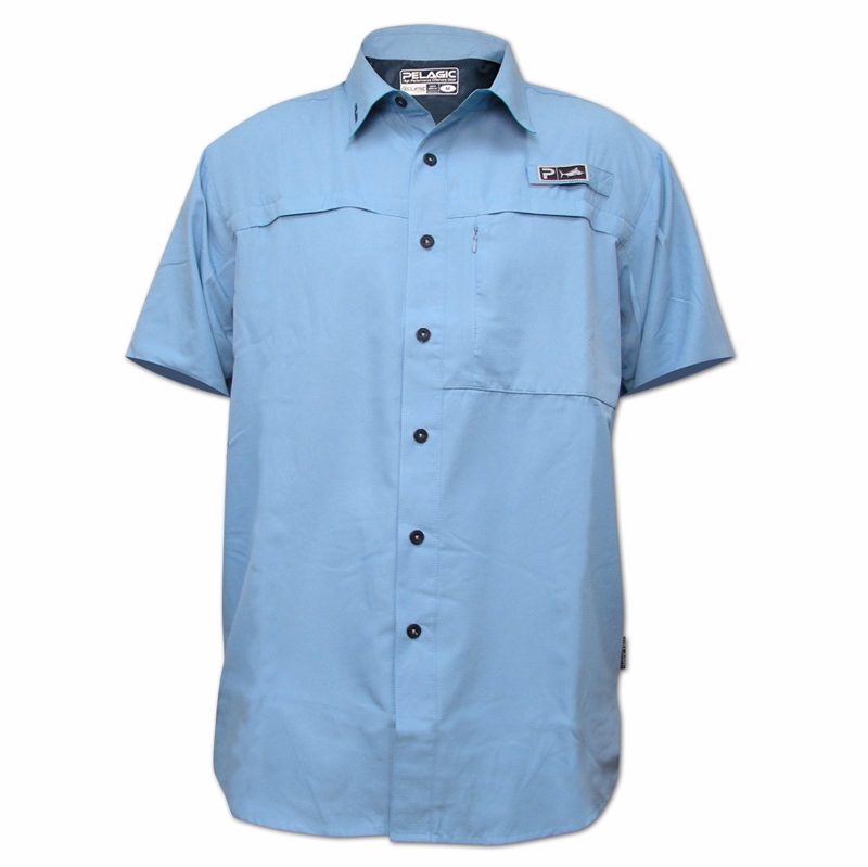 Pelagic 795 a eclipse spf guide ss shirt for Shirts with sunscreen in them