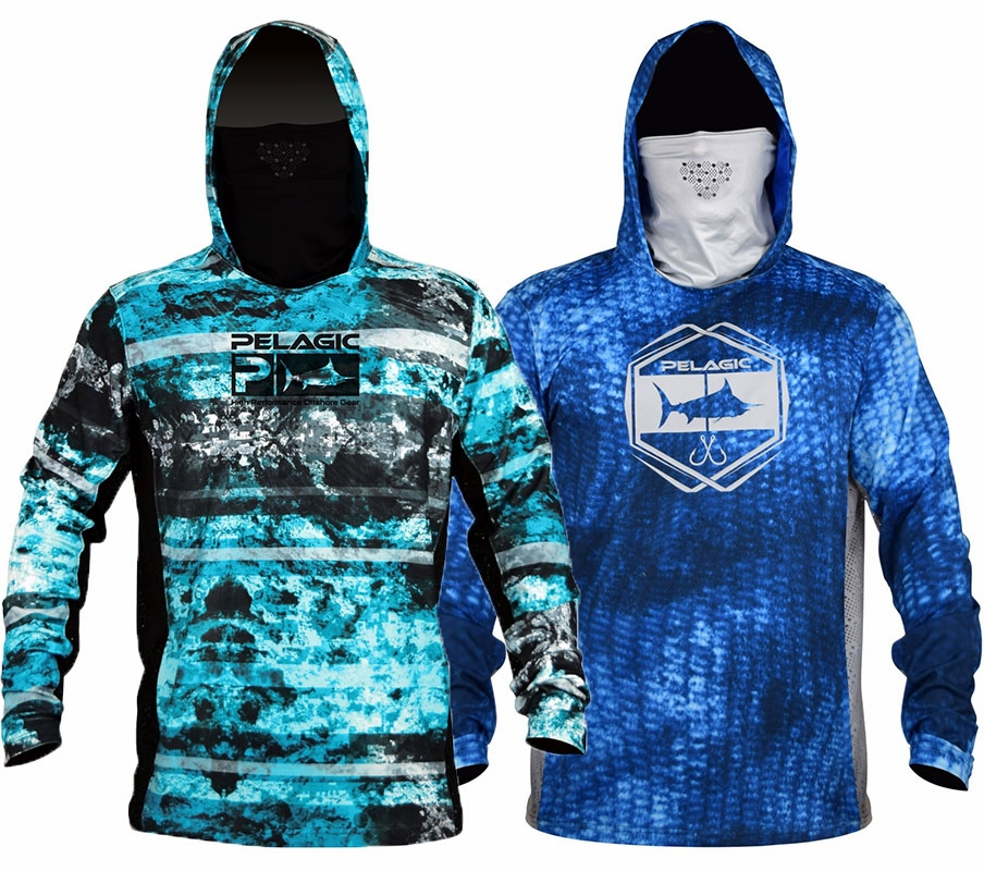 Famous Pelagic Exo-Tech Long Sleeve Hooded Shirt | TackleDirect UU24