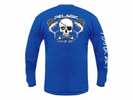 5e2f08b17a82 Pelagic Fish or Die! Long Sleeve T-Shirts