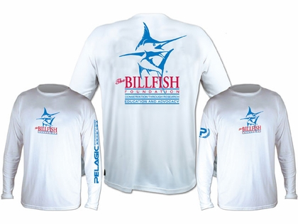 Pelagic OCP Billfish Foundation Aquatek Shirt