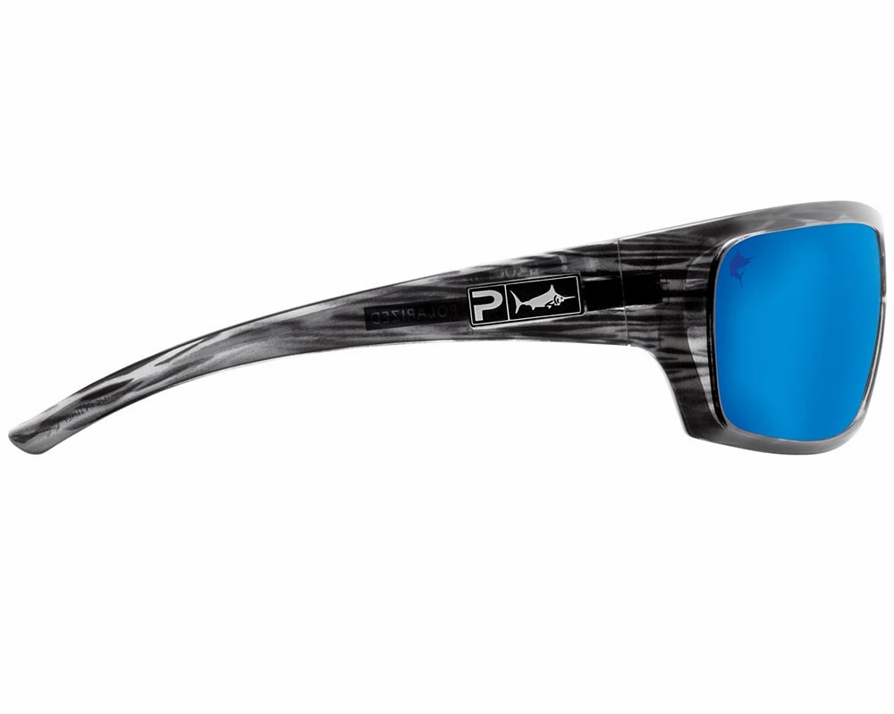 de835472411 Pelagic The Mack Sunglasses - Silverwood Blue Mirror