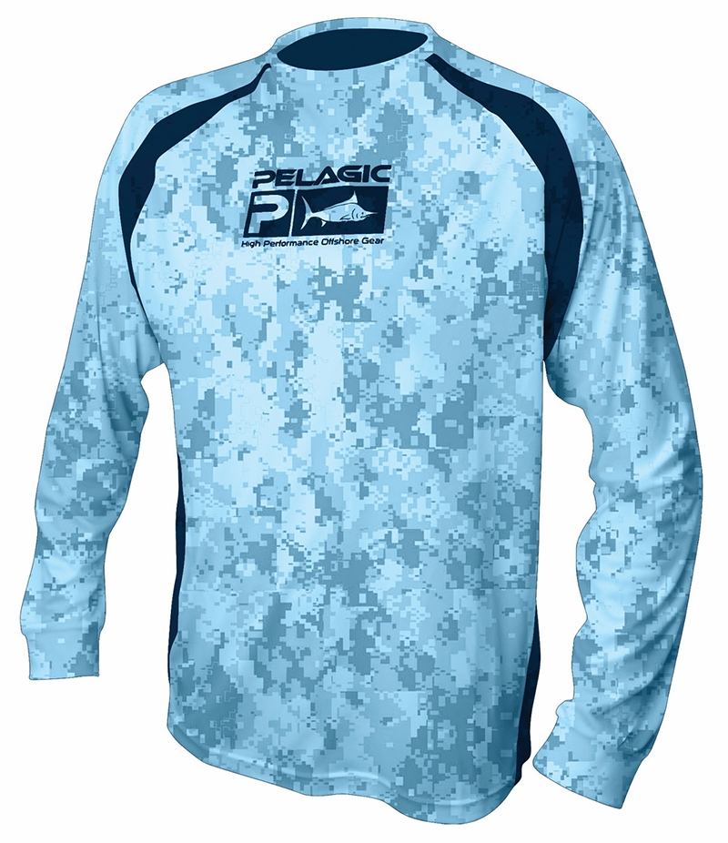 pelagic vaportek l s shirt tackledirect