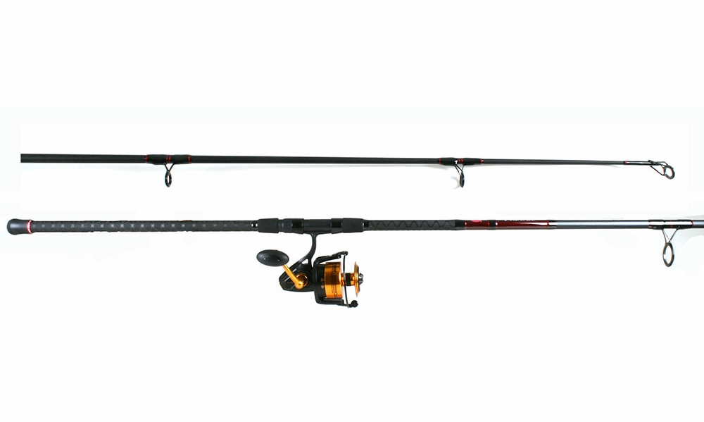 Penn ssv8500 spinfisher v reel penn prevail combo for Best surf fishing rod and reel combo