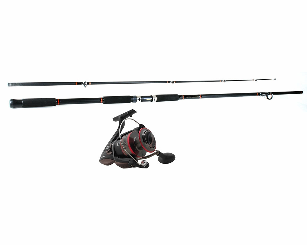 Penn frc8000 fierce reel daiwa beefstick rod combo for Surf fishing rods and reel combos
