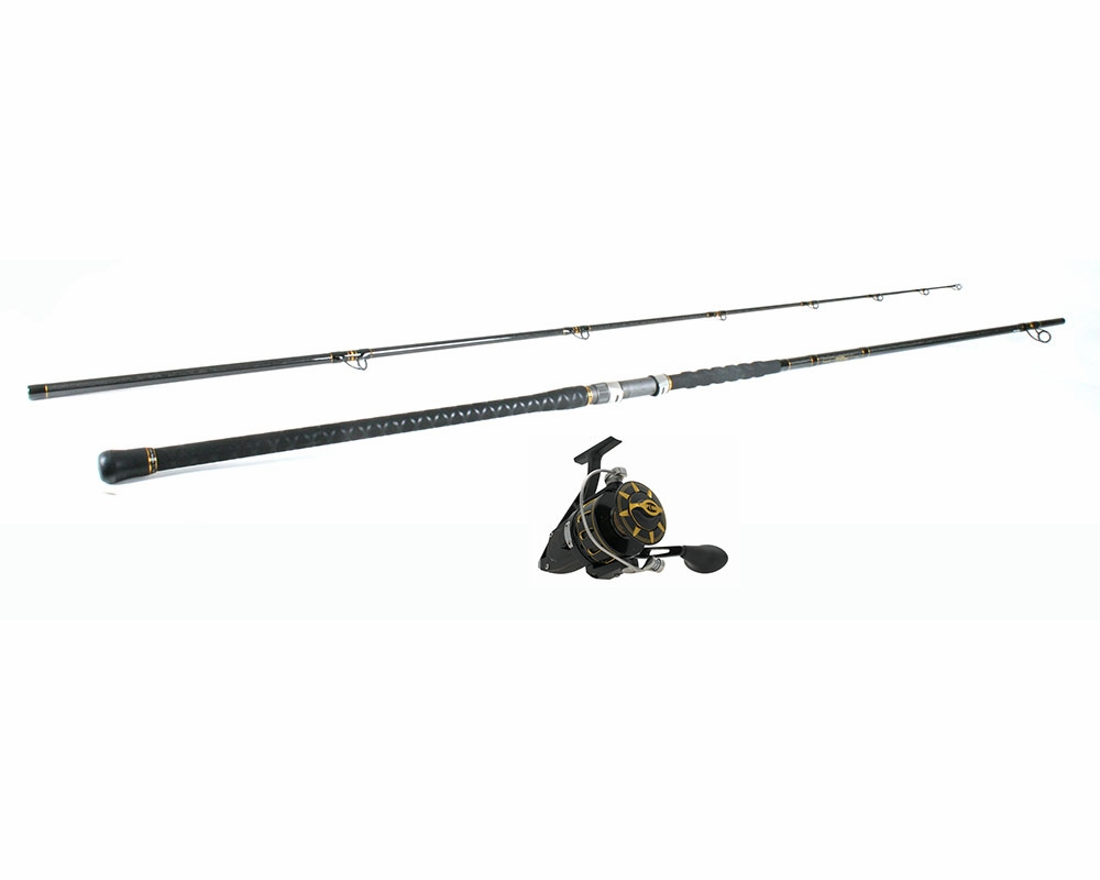 Penn torque reel penn carnage ii surf fishing combo for Surf fishing rods and reel combos