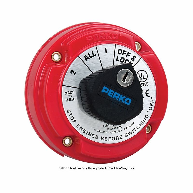 Perko medium duty battery selector switches tackledirect perko medium duty battery selector switches publicscrutiny Image collections