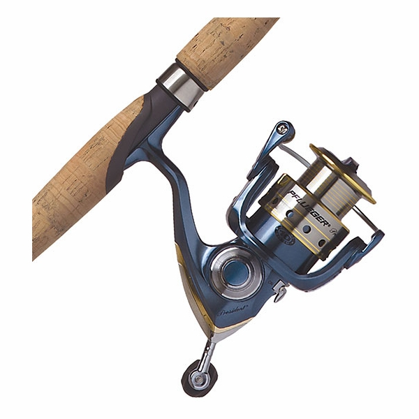 Pflueger president spinning combos tackledirect for Saltwater fly fishing combo