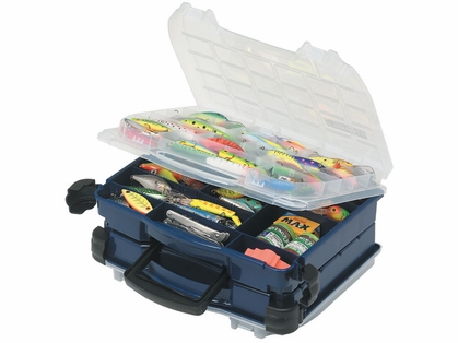 Plano Double Cover 2 Sided Tackle Box