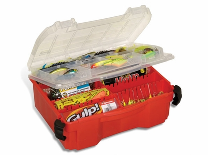 Plano Double Cover Worm/Spinner Box