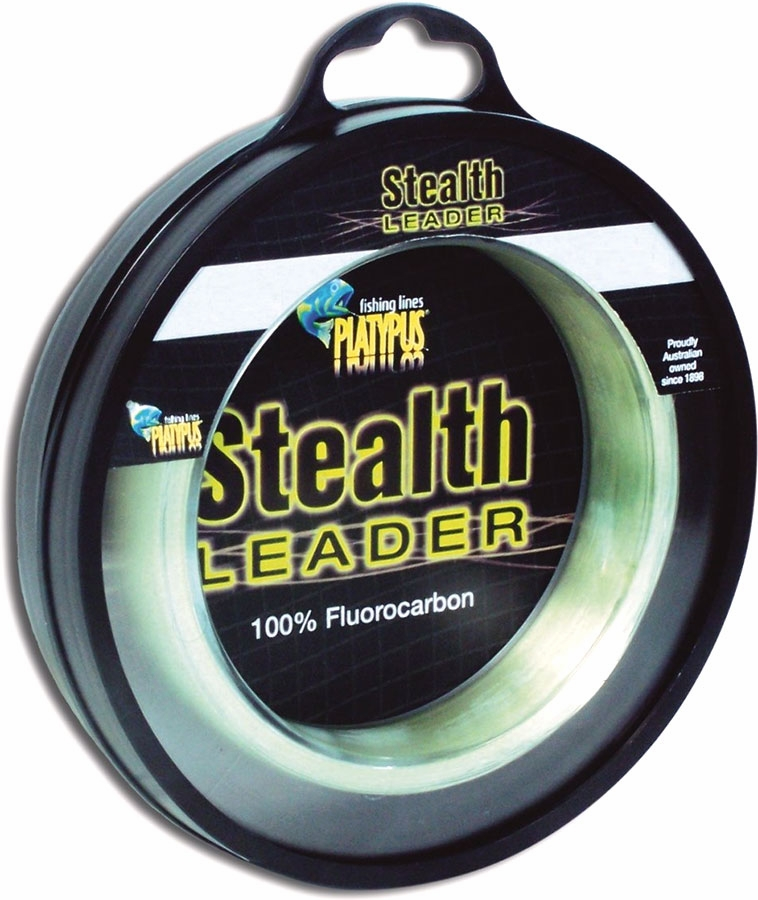 Platypus stealth leader tackledirect for Fishing line leader