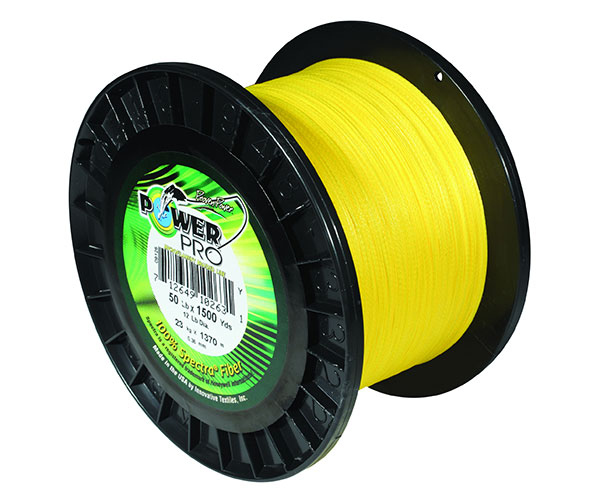 power pro 50lb 300yds braided spectra fishing line hi vis