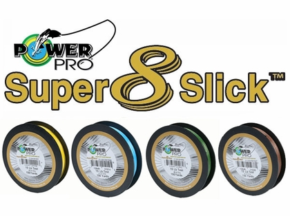 PowerPro Super Slick Braided Line 15lb 150yds