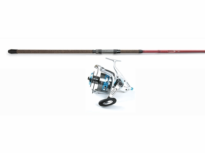 Quantum Cabo Spin Reel - St. Croix 12ft Avid Spin Rod Surf Fishing Combo