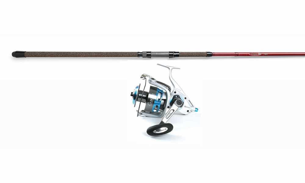 Quantum cabo spin reel st croix avid spin combo for Best surf fishing rod and reel combo
