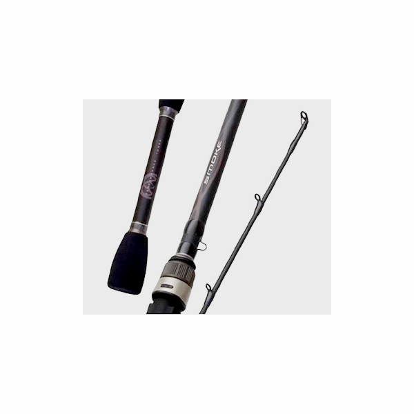 Quantum sksi704f smoke inshore spinning rod tackledirect for Quantum fishing rods
