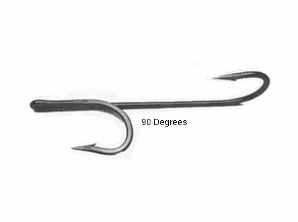 Quick Rig Double Trouble ''90'' Degree Hooks 4/0 Black Nickel