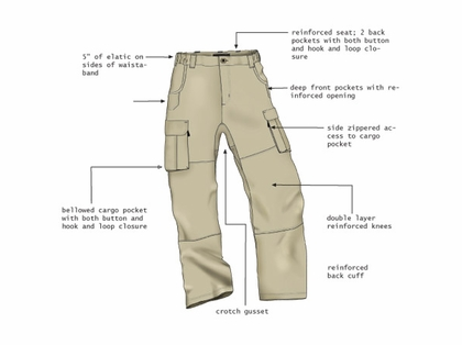 RailRiders Men's Dura-Lite VersaTac-Light Pant