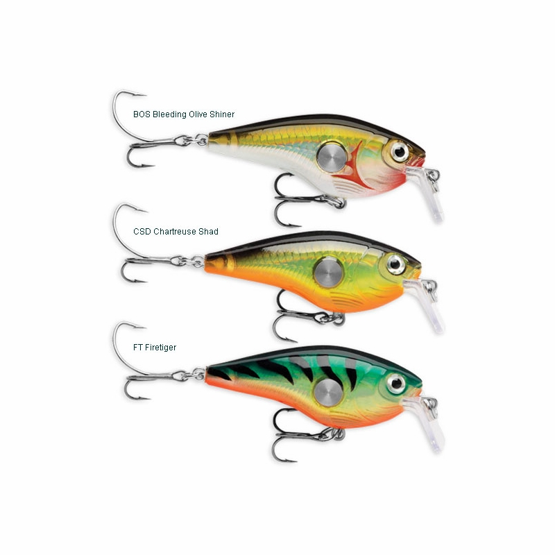 Rapala clackin crank lures tackledirect for Ocean fishing lures