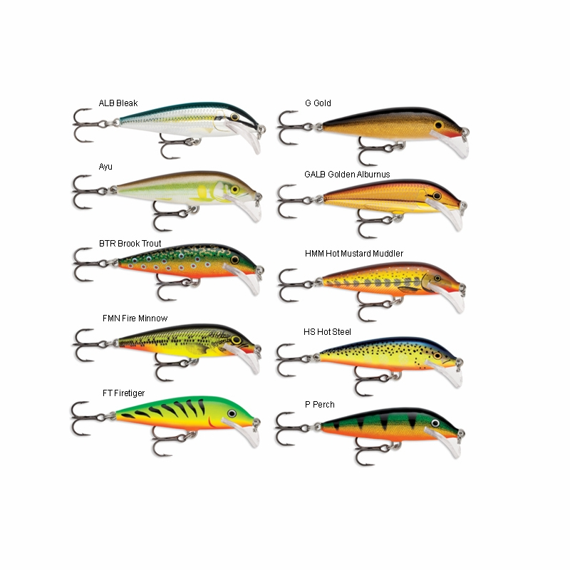 Rapala scrcd07 scatter rap countdown lure tackledirect for Rapala fishing codes