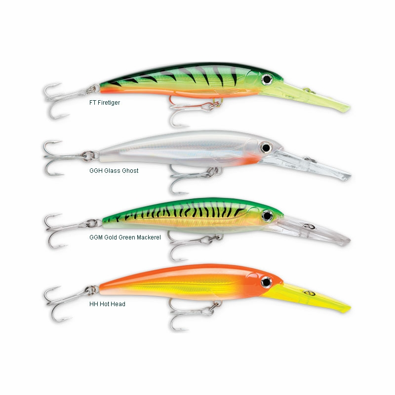 Rapala xrmag30 x rap magnum lure tackledirect for Best saltwater fishing line color