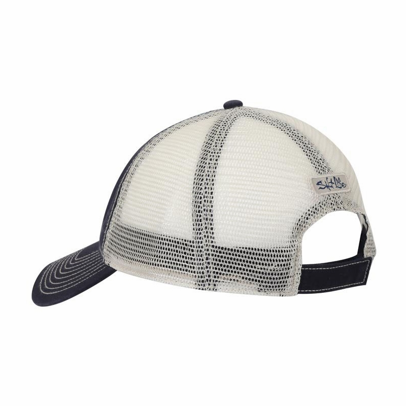 Salt Life Life in the Cast Lane Mesh Back Hat  71fce862380