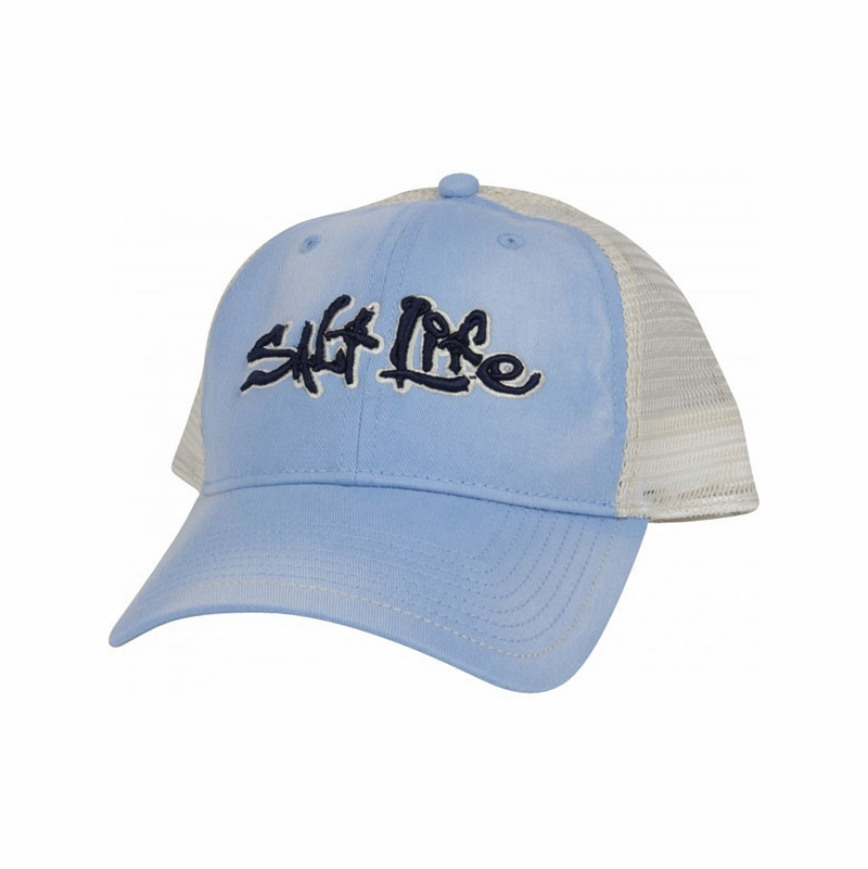 salt life baseball hat stance trucker