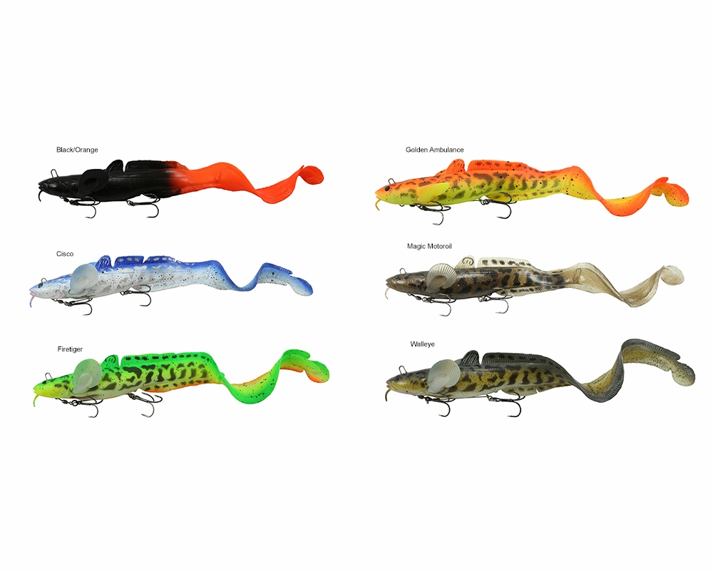 Savage gear 3d burbot tail baits tackledirect for Savage fishing gear