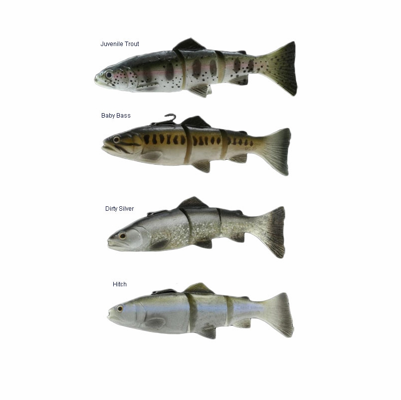 Savage gear 3d line thru trout lures tackledirect for Savage fishing gear