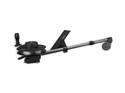 "Scotty 1085DPR Strongarm Downrigger 30"" Boom w/ Rod Holder"