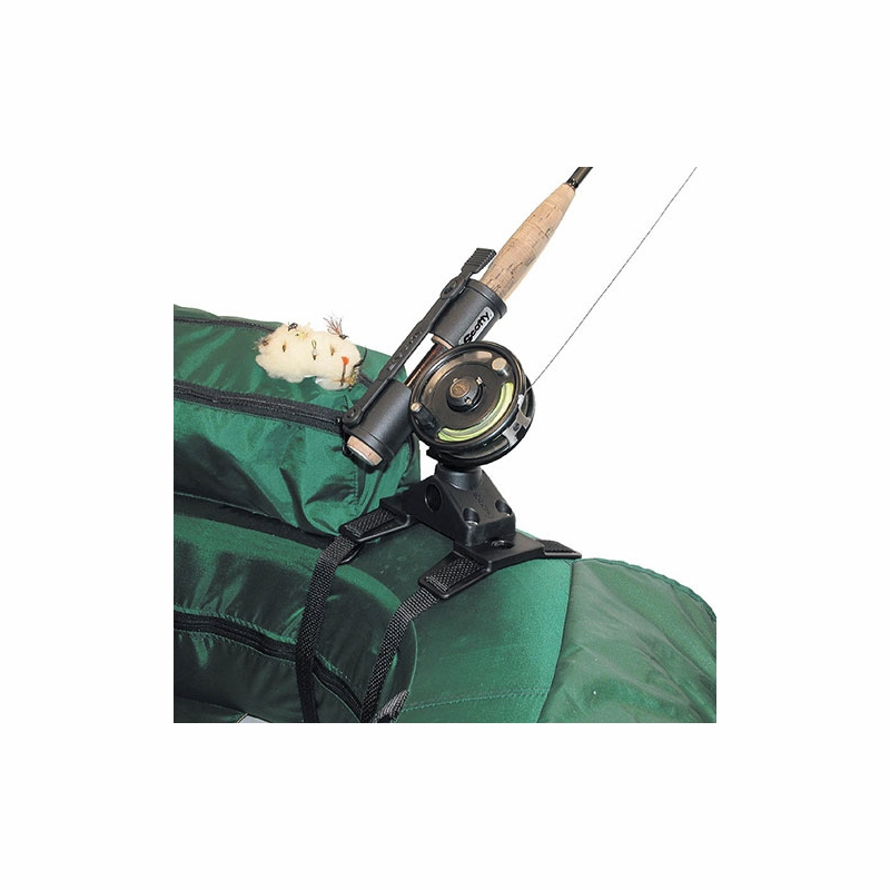 Scotty 267 fly rod holder w 266 float tube mount for Fly fishing rod holder