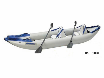 Sea Eagle 380X Inflatable Explorer Kayaks