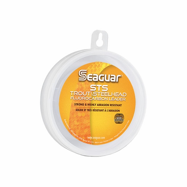 Seaguar sts steelhead trout fluorocarbon leader tackledirect for Seaguar fishing line