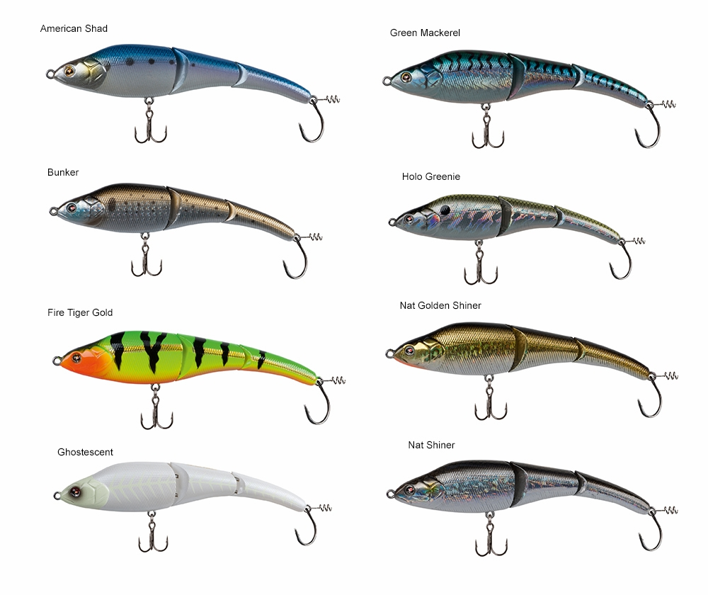 Sebile magic swimmer lure 9in slow sinking tackledirect for Best saltwater fishing line color