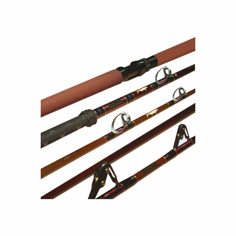 Seeker ss6460xh 6 ar super seeker stand up rod tackledirect for Seeker fishing rods