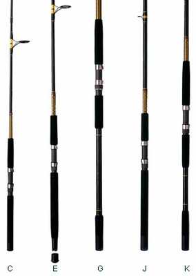 Shakespeare Ugly Stik Bigwater Spinning Rods Tackledirect