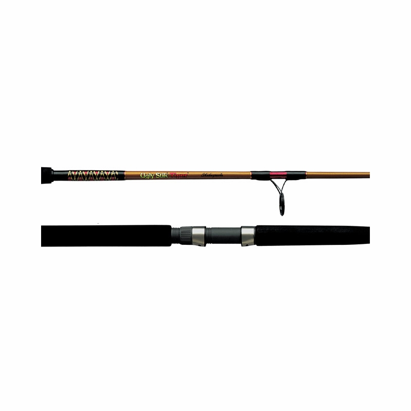 Shakespeare bws 2201 2 70 ugly stik tiger rod spinning for Tiger fishing rods