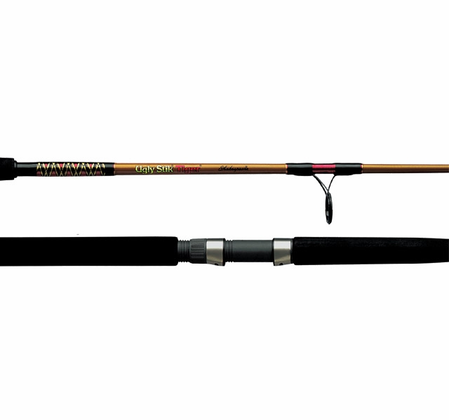 Shakespeare bws 2201 70 ugly stik tiger rod spinning for Tiger fishing rods