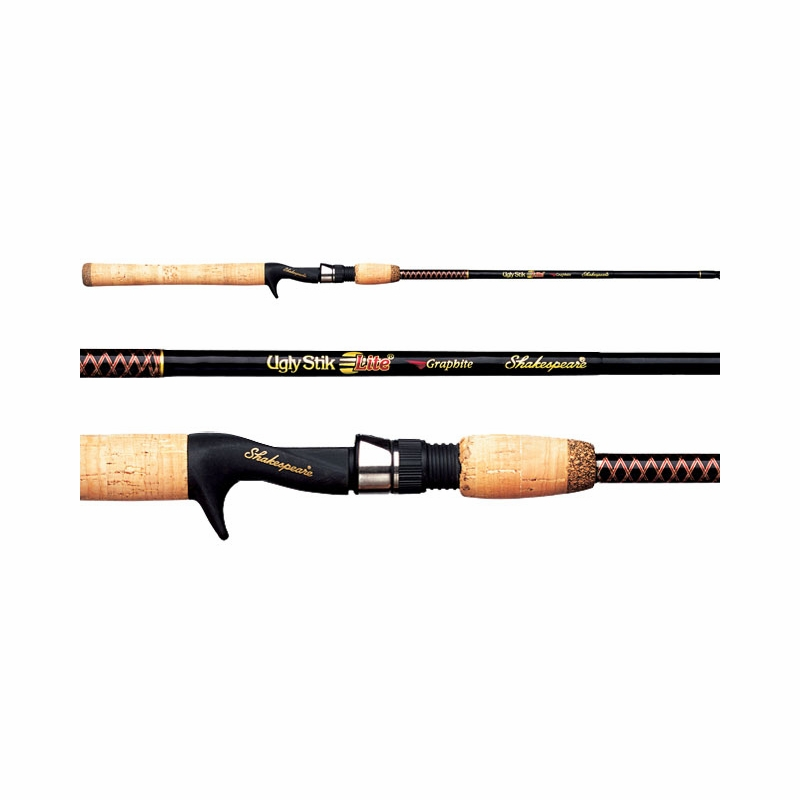 Shakespeare ugly stik lite freshwater casting rods for Ugly stik fishing rod