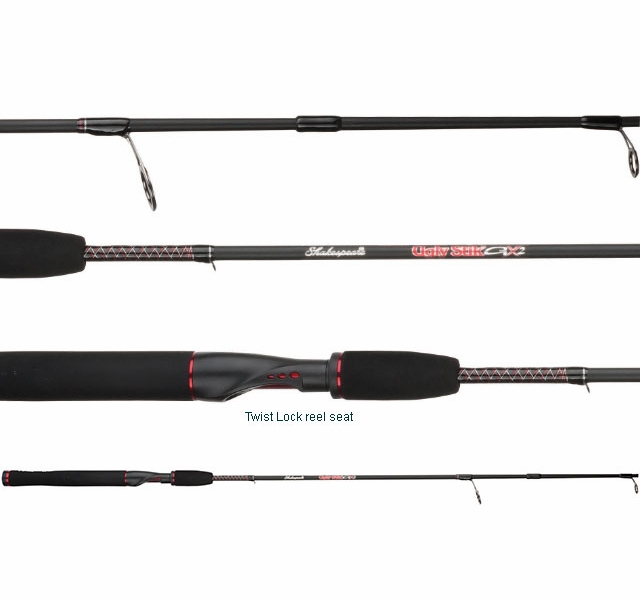 Shakespeare ussp662l ugly stik gx2 spinning rod for Shakespeare fishing rod