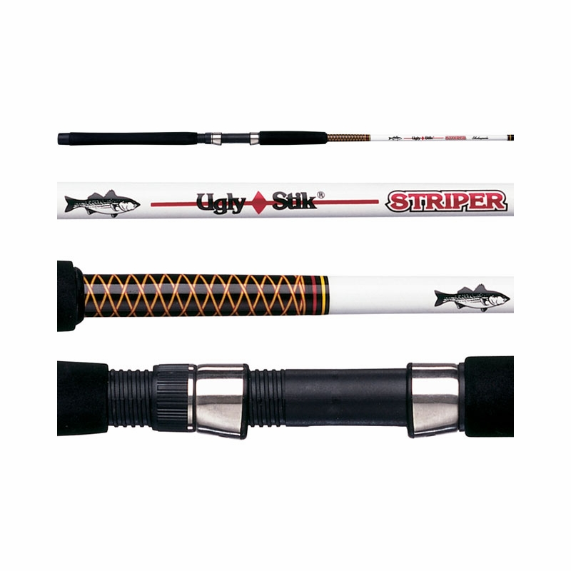 shakespeare ugly stik striper rods tackledirect