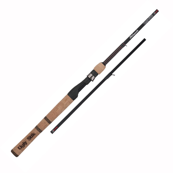 shakespeare ugly stik elite spinning rods tackledirect