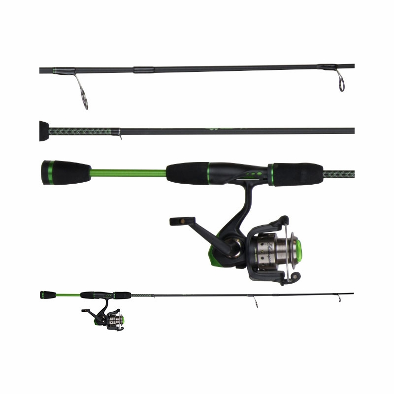 Shakespeare usythsp30cbo ugly stik youth spin combo for Youth fishing rod and reel combo