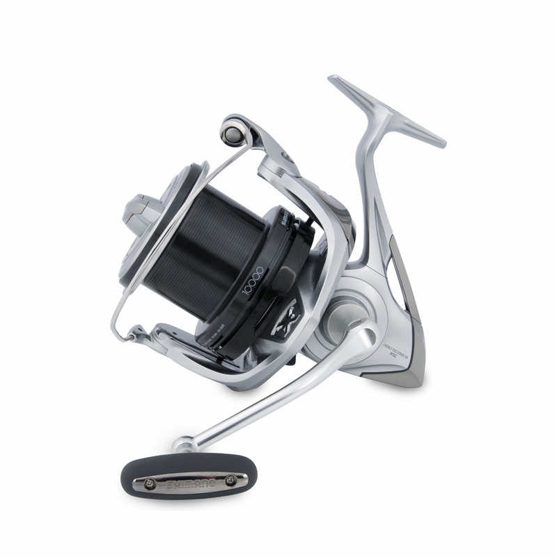 Shimano artc10000xs aero technium 10000 xs c surf spinning for Surf fishing reels
