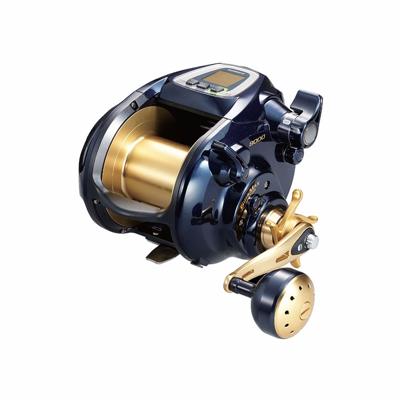 Shimano bm9000 beastmaster electric dendou reel tackledirect for Electric fishing rod