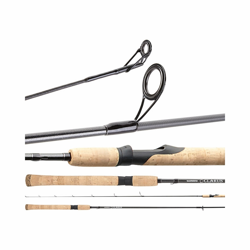 Shimano css76l2c clarus c spinning rod 2pc for Shimano fishing rods