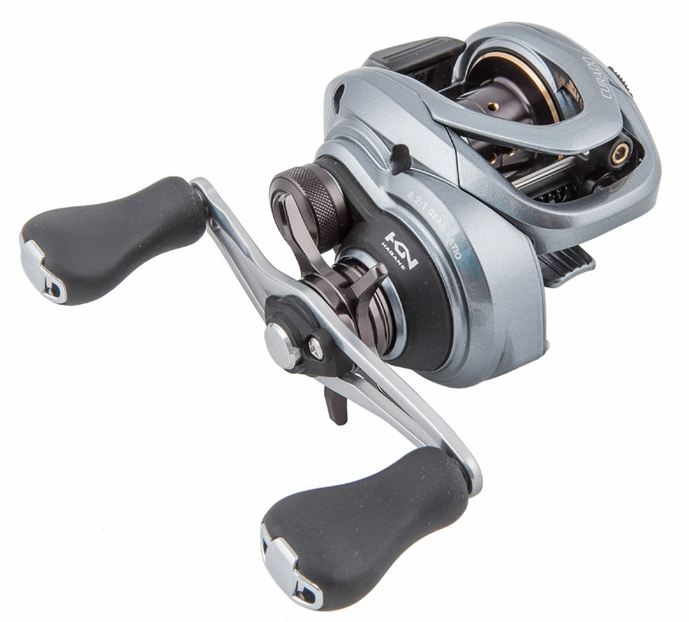 Shimano cu70xg curado 70 baitcasting reel tackledirect for Baitcasting fishing reel