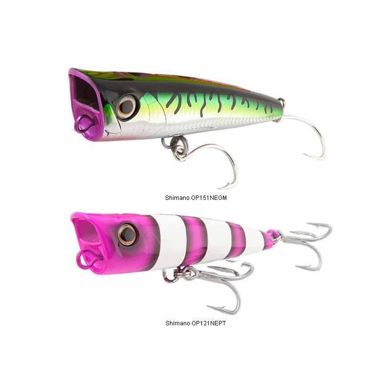 Shimano Pop-ORCA Popper Lures | TackleDirect