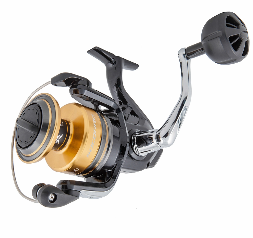 Shimano socorro sw spinning reels tackledirect for Shimano fishing reels for sale