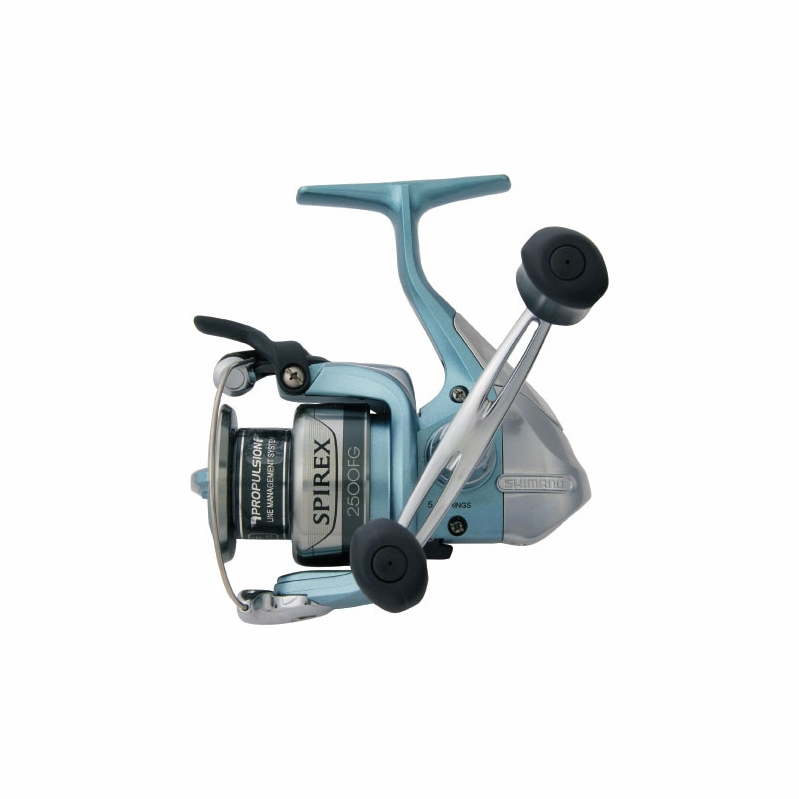 Shimano spirex fg and rg spinning reels for Shimano fishing rods